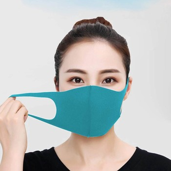 10PCS Face Masks Mouth Adult Reusable Washable Fabric Mask Print Ice Silk Face Masks Washable Mouth Caps Reusable mascarillas недорого