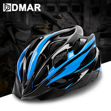 купить DMAR Ultralight Bicycle Cycling Helmet EPS+PC Cover MTB Road Bike Helmet Cycling Integrally Molded Helmet Cycling Safely Cap онлайн