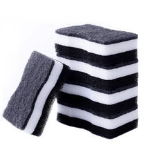 5pcs Melamine Sponge Three Layer Dishwashing Cleaning Magic Wipe For Dishes Household Scouring Cloth