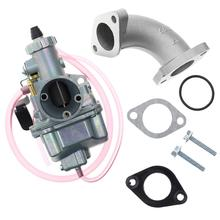 цена на Metal Carburetor VM22 26mm Carburetor Kit Fit for Mikuni Intake Pipe Pit Dirt Bike 110cc 125cc 140cc Lifan YX
