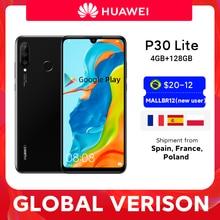 Смартфон Huawei P30 Lite, глобальная версия, 4 Гб 128 ГБ, 6,15 дюйма, Kirin 710, Android 9,0