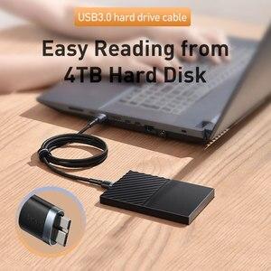 Image 4 - Baseus USB 3.0 Naar Micro B Kabel 5GB Snelle USB Type EEN Micro B Data Kabel voor Samsung s5 Note 3 HDD Externe Harde Schijf Schijf Cord