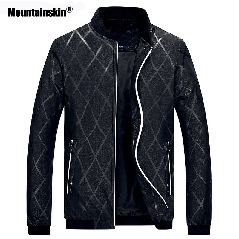 Mountainskin 2020 New Men's Jacket Autumn Spring Fashion Baseball Jackets Male Casual Slim Fits Coat Brand Clothing M~4XL SA801
