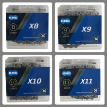 KMC Bicycle Chain Bike Chain 116 Links X8 X9 X10 X11 for MTB Road Bike genuine kmc x8 x9 x10 x11 mtb bike chain 8 9 10 11 speed bicycle chain 116 links steel road bike chain with missing link