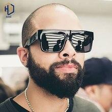 Super Square Glasses Rivets Vintage Women Sunglasses Brand D
