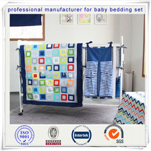 цена на 5Pcs/Set Newborn 100% Cotton Bedding Crib Skirt Bumper Baby Cot Set Quilt Blanket Boy And Girl Baby Bedding Set Unisex Print