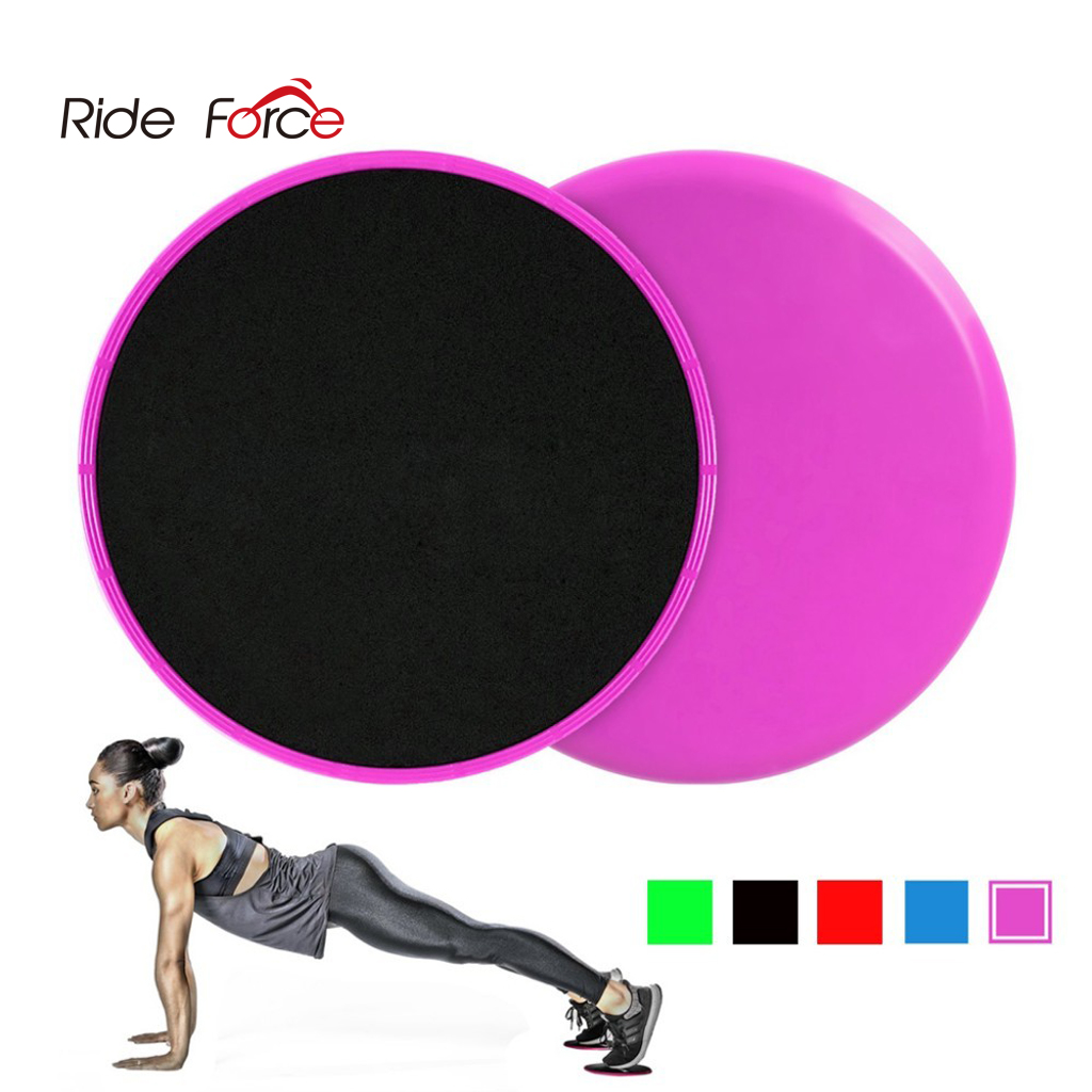 4 Pack Dual Sided Gliding Slider for Carpet or Hard Floors Core Fitness Ultimate Core Training Gym and Full Body Workout/'s at Home or Travel Black /& Blue XMSound Exercise Sliders for Fitness Workout
