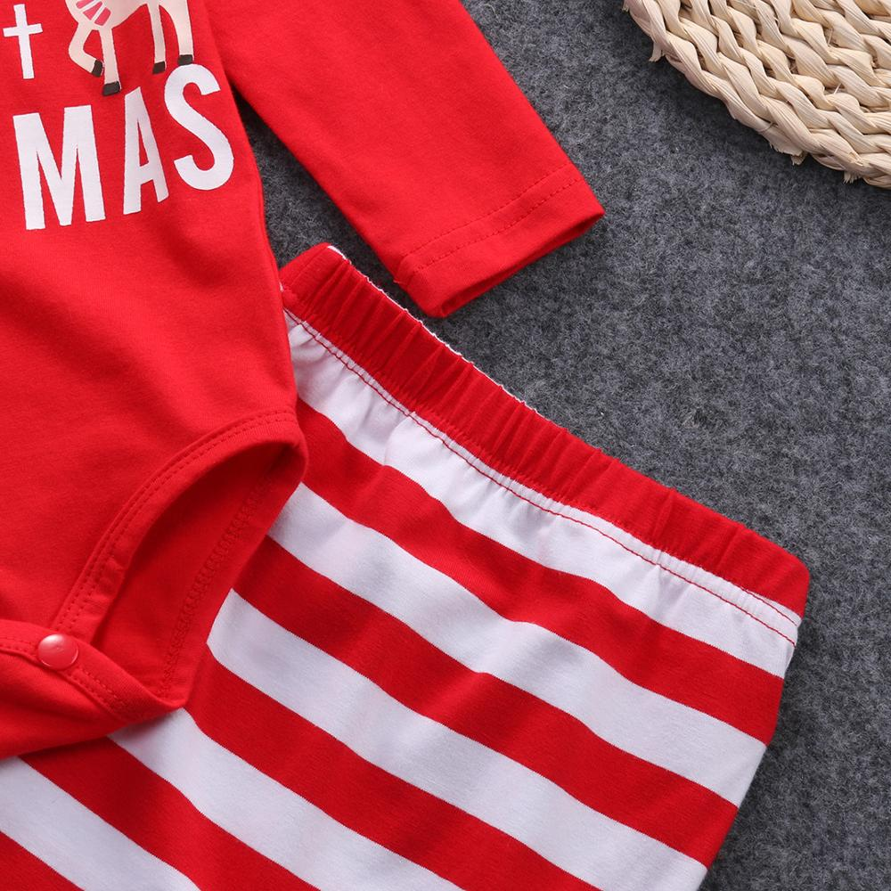 Лидер продаж Рождественский комбинезон с надписью для новорожденных