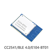 Free shipping 2pics CDSENET  E104-BT01 50m 2.4GHz CC2541 low energy 4.0 Bluetooth RF Transceiver Module