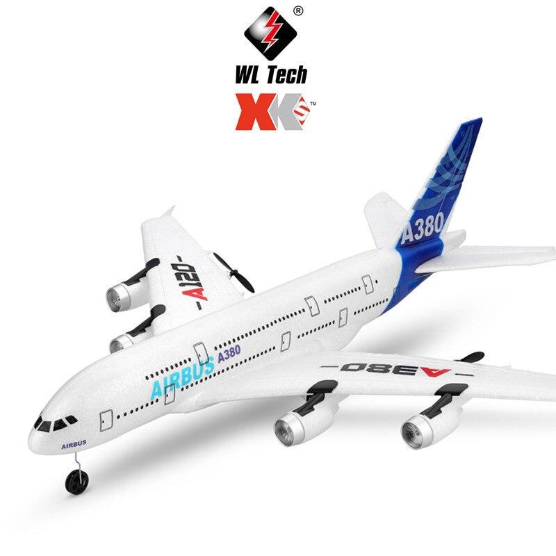 Hotty jouet A120 Airbus A380 télécommande hélicoptère modèle d'aviation militaire Rc hélicoptère planeur à voilure fixe pour enfants jouets