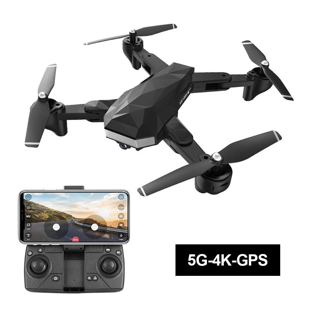 New C53 GPS Drone With 4K HD Dual Camera 2 4G 5G WIFI FPV RC Quadcopter Foldable Professional Helicopter Remote Control Drones