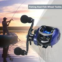 2020 melhor isca carretel de pesca 7.2: 1 17 + 1bb baixo carretel de pesca da mão esquerda e direita carretel de pesca de água salgada acessórios