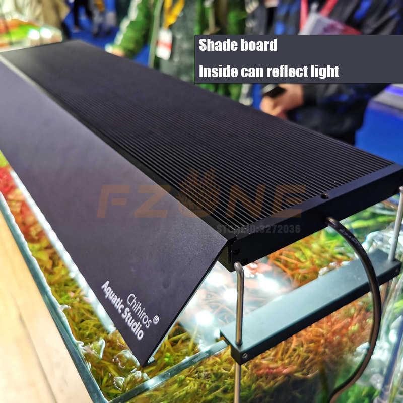 Nowy Chihiros WRGB 2 oświetlenie Led do akwarium ulepszona wersja lampa światła z białym niebieskim czerwonym regulowany kolor jako Sunrise darmowa wysyłka