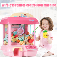 Coin Operated Game Clip Doll Grabber Arcade Game Machine Candy Grabber Doll Grabber Claw Machine Crane Machine Kid Toys Catcher