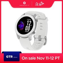 In Stock Global Version Amazfit GTR 42mm womens watches 5ATM Smartwatch 12 Days Battery GPS Music Control For Android IOS phone