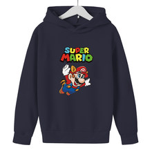 Cartoon Mario Bro Pokemon Hoodie 2021 Spring new style For Teen 3D Girls Clothing Super Zings Baby Boys Clothing Hoodie Kids