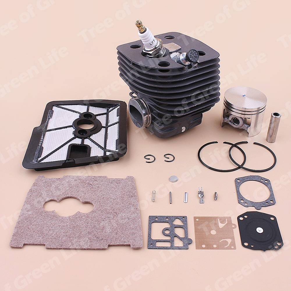 Repair Piston Decompression Air Kit Kit Stihl Cover FS420L 46mm Valve FS550 Filter Cylinder FS420 For FS550L