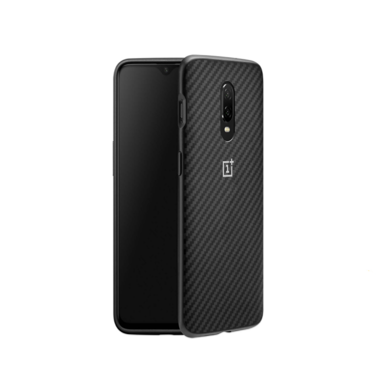 100% Original Aramid Fibers Silicone Sandstone Case For Oneplus 6 6t Official Phone Protective Shell Bumper