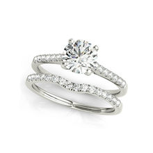 1 Carat Anniversary SONA Stone Engagement Wedding Bands 925 Sterling Silver Wedding Rings for Women LESF Jewelry