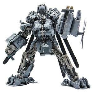 Image 5 - 25 centimetri Transformers Blackout Grimlock SS07 SS08 Collection Action Figure ABS Trasformazione Car Robor Giocattolo Regali Di Natale Per I Bambini