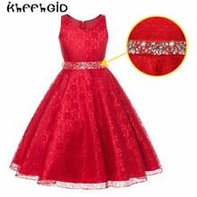 Рождественские платья для девочек, с блестками для девочек вечерние платье принцессы вечерние платья для маленьких девочек, одежда для мал...