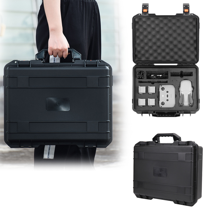 Explosion-proof Bag For Mavic Air 2 Waterproof Storage Bag Hard Cover Shell Handbag Portable Case Box For DJI Drone Accessories