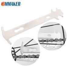Ruler Bicycle-Chain Checker Repair-Tool Cycling-Replacement Wear-Indicator Mountain-Road-Bike