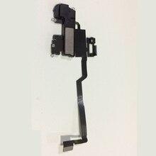 ใหม่ด้านหน้า Flex Ribbon สายลำโพงหูฟังสำหรับ iPhone X 10 เปลี่ยนชิ้นส่วน
