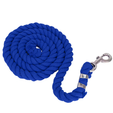 Lead-Rope Equestrian Horse Riding Accessoreis Durable with Sturdy Clasp for 2m 20mm Braided