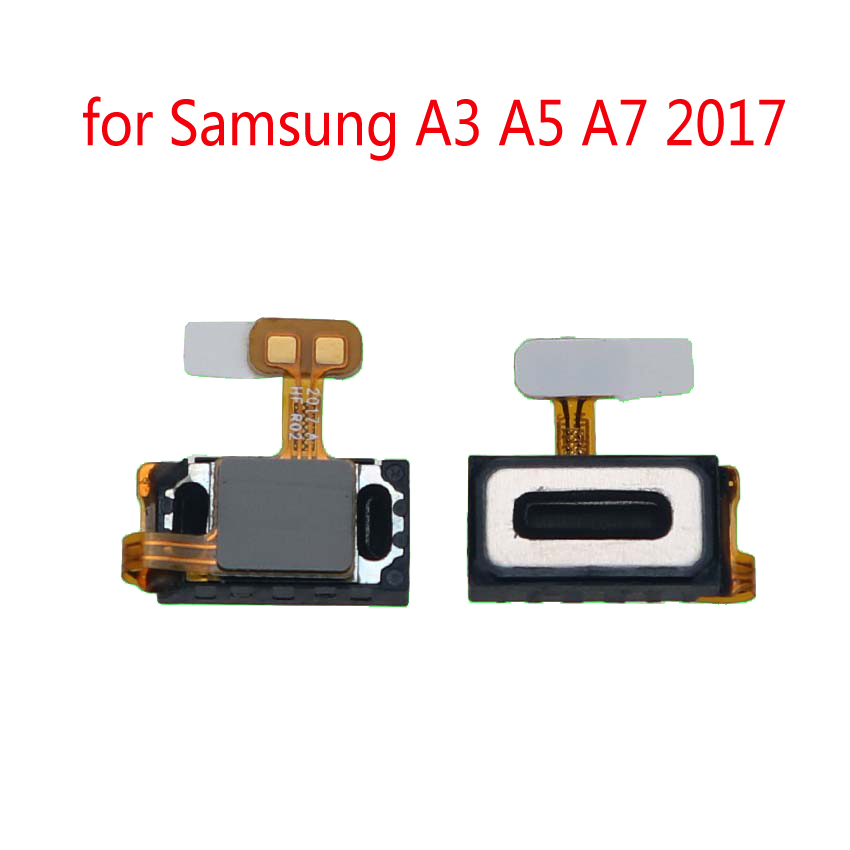 Phone Earpiece Speaker For Samsung A3 A5 A7 2017 Galaxy A320 A520 A720 Original New Top Ear Speaker Sound Receiver Flex Cable