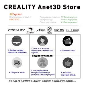 Image 5 - מקורי CREALITY 3D מדפסת Ender 3 או Ender 3 פרו DIY ערכת MeanWell כוח אספקת/עבור 1.75mm PLA ABS PETG /מרוסיה