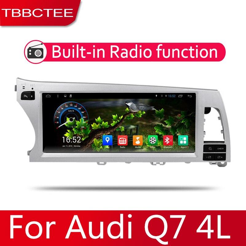 2din автомобильный мультимедийный Android Автомагнитола для Audi Q7 4L 2006 ~ 2015 Bluetooth WiFi Mirror link Navi|Мультимедиаплеер для авто| | АлиЭкспресс