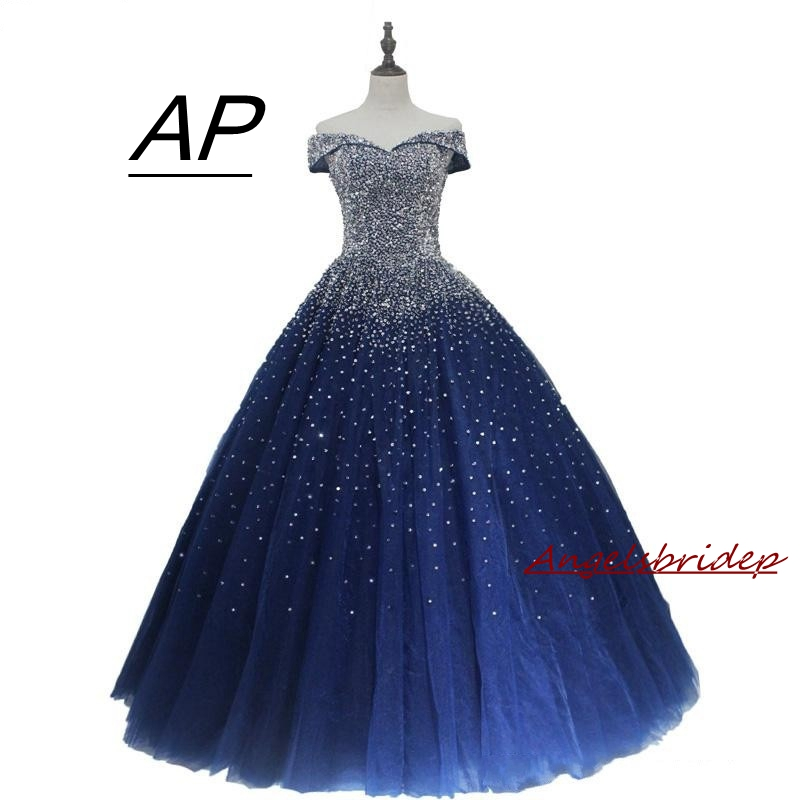 Navy-Blue-Ball-Gown-Quinceanera-Dresses-2019-Off-Shoulder-Lace-up-Back-Major-Beading-Princess-Puffy