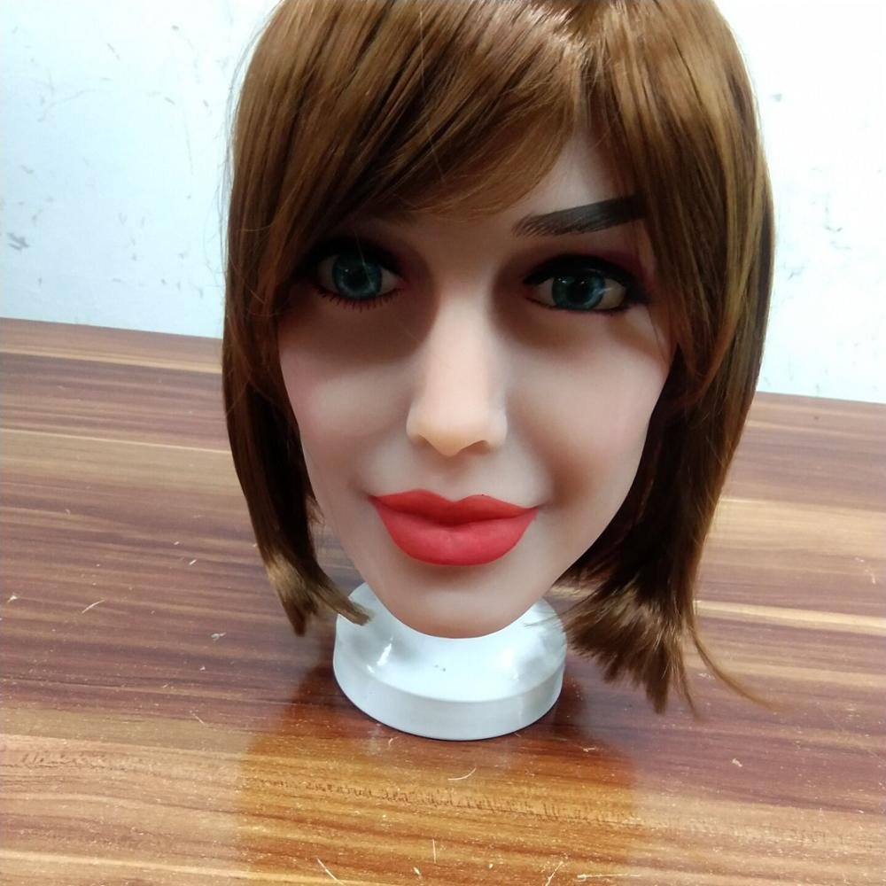 Oral <font><b>Sex</b></font> <font><b>Doll</b></font> Heads with m16 Connector Silicone <font><b>Doll</b></font> Mold for Big Size Love <font><b>Dolls</b></font> <font><b>176cm</b></font> <font><b>Sex</b></font> Toy <font><b>Doll</b></font>(Head Only) image