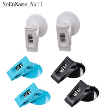 2Pcs Car Interior Multi-Purpose Hook Plastic Sucker Removable Suction Cap Clip