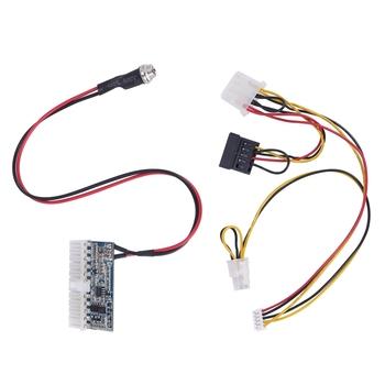 DC-ATX-160W 160 W wysokiej mocy DC 12 V 24Pin Z1 160 W Pico zasilacz ATX Schaltnetzteil Auto Auto ITX ATX tanie i dobre opinie Fasdga NONE CN (pochodzenie) Nintendo 14 (mm) audio connection power cord 0 2 (mm)