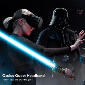 Image 5 - Kivi tasarım kafa bandı kafa bandı Oculus Quest 2 rahat PU deri ve düşürdü basınç VR aksesuarları