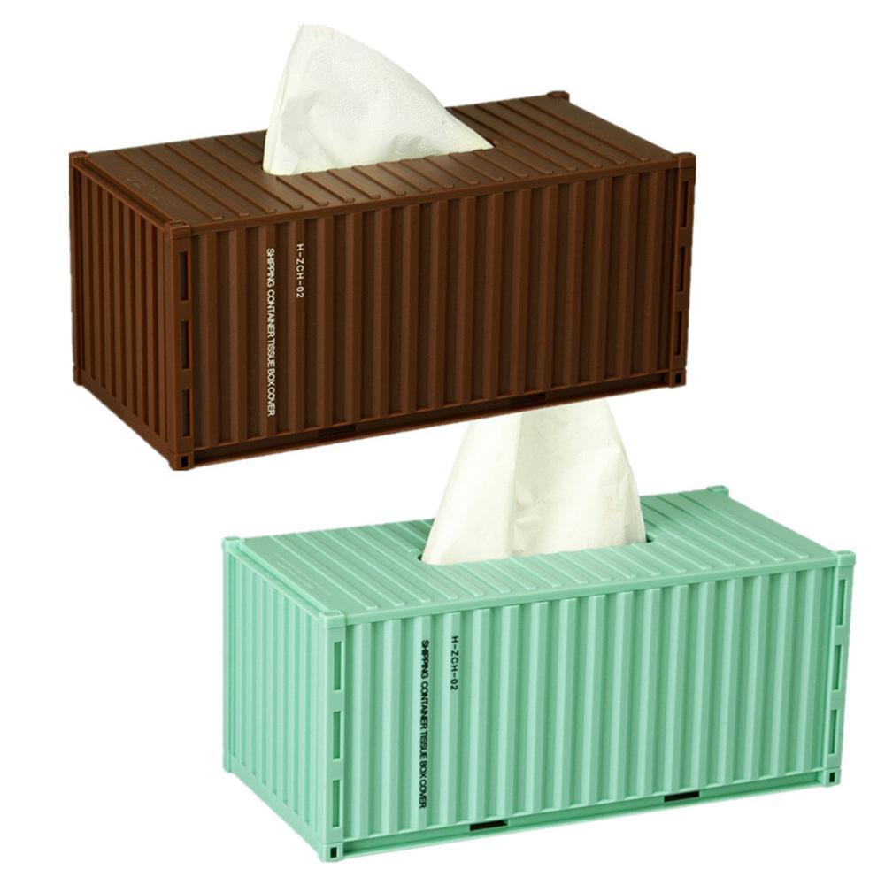 Armazenamento de bombeamento de tecido do agregado familiar removível do recipiente da caixa do tecido apropriado para o escritório do quarto da sala de visitas
