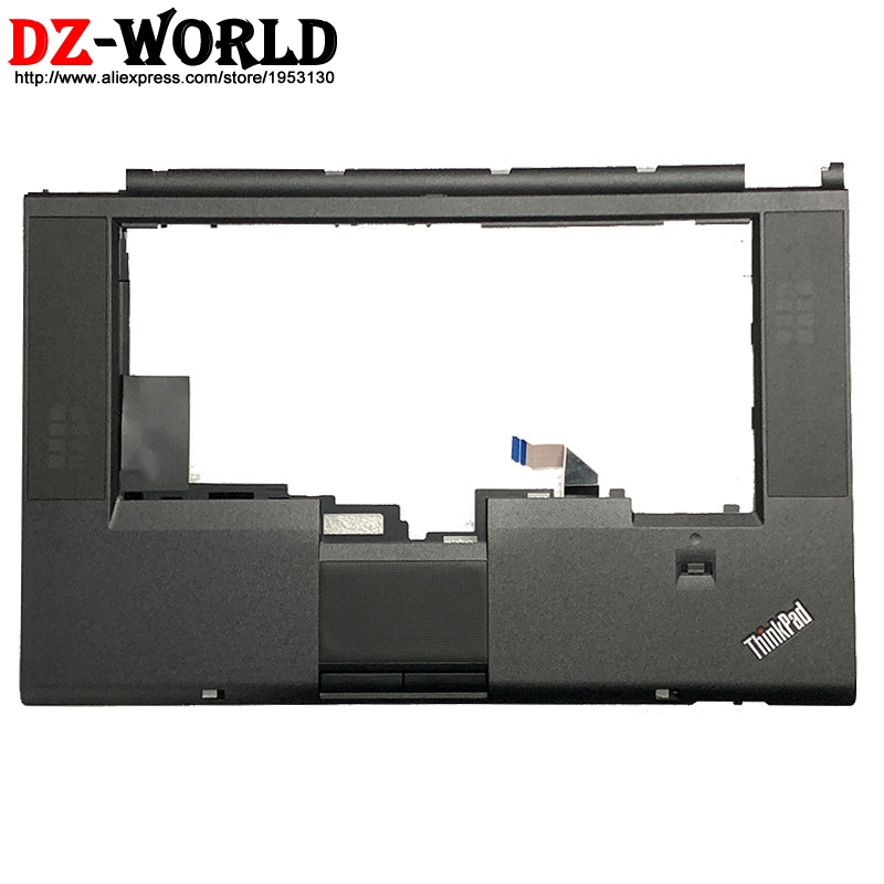 New/orig Palmrest Upper Case keyboard Bezel with <font><b>Touchpad</b></font> Button <font><b>Cable</b></font> FPR for Lenovo Thinkpad W530 T530 T530i <font><b>Laptop</b></font> C Cover image