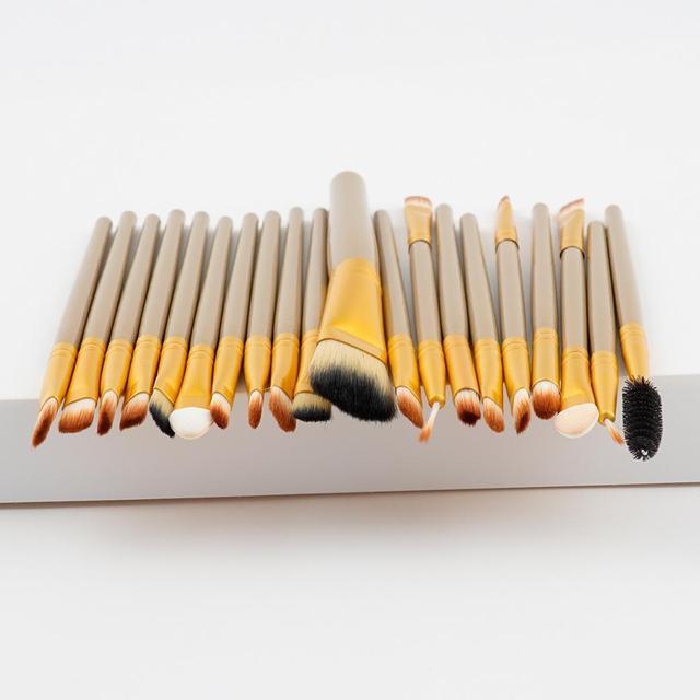 20 PCS Makeup Brushes Set Foundation Eye Shadow Blending Eyeliner Eyelash Make up Brushes Professional Maquiagem Brush Tools 5
