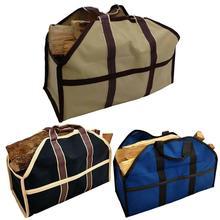 Портативный держатель дров для дров, походов на открытом воздухе, для сада, для строительства огня, Большая вместительная сумка-тоут