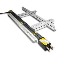 Dobladora eléctrica de acrílico de 220 V, dobladora de cajas luminosas de PVC con placa de plástico Y soporte de fijación