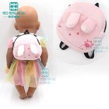Acessórios para boneca, acessórios para boneca de 43 cm, brinquedo, boneca de bebê, mochila de pelúcia de desenho animado