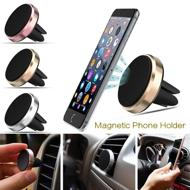 Автомобильный держатель для телефона, магнитное крепление для вентиляционного отверстия, универсальная подставка для смартфона, магнитны...