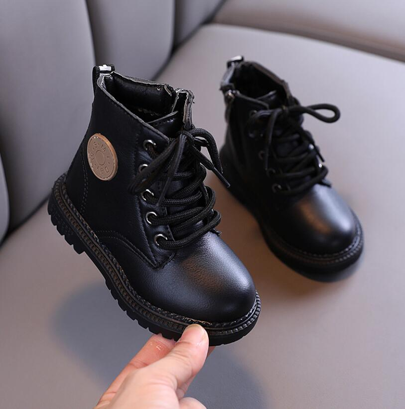 Unisex Fashion Leather Boots