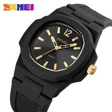 Mode Quarzuhr Männer Top Marke SKMEI Armbanduhr 50M Wasserdichte Kleid Armband männer Uhren Einfache Design Uhr luxus Stunde