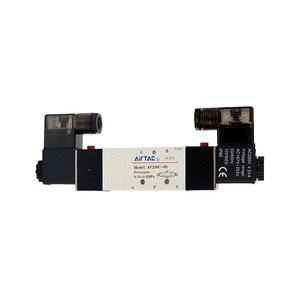 Image 2 - Pneumatic solenoid valve Double coil Port 1/8 1/4 24VDC 4V230C/4V230E/4V230P 08 5/3 way control valve