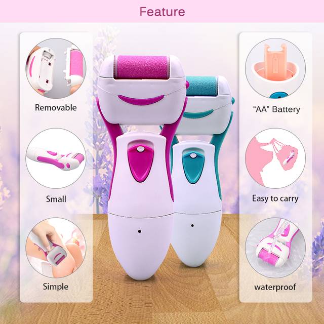 Electric Pedicure Tools Foot Care Tool Hard Dry Dead Cuticle Skin Remover Pedicure Care Grinding Foot File For Foot Heel Skin 4
