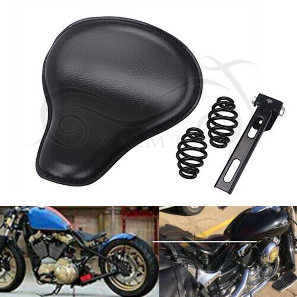 """Swivel Bracket For Harley Chopper Bobber Custom Motorcycle 3/"""" Spring Solo Seat"""