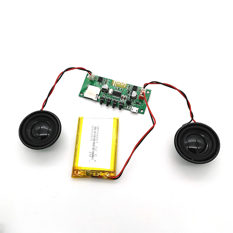 5V Bluetooth Receiving Card Mp3 Decoder Board With Amplifier Audio Decoder Module Hifi Fever With Charging